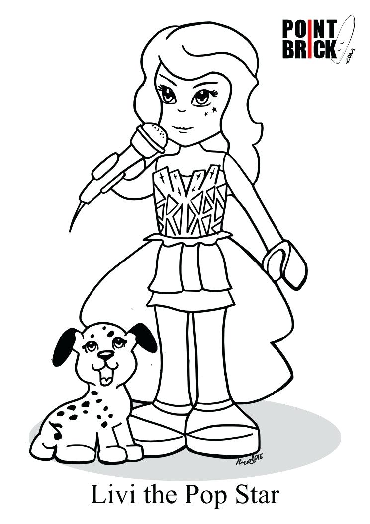 744x1052 Coloring Pages Lego Friends Good Friends Coloring Pages Photo Lego