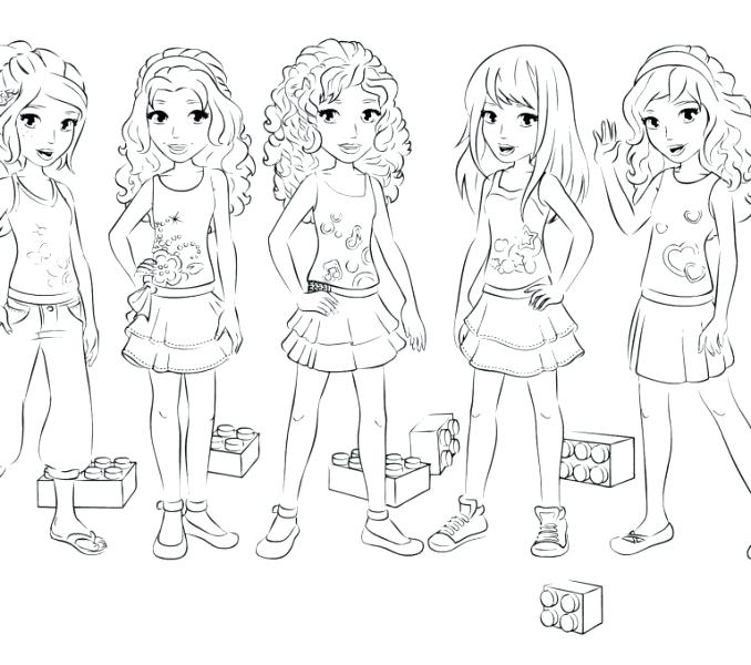 678x600 Coloring Pages Of Lego Friends Girl Coloring Pages Lego Friends