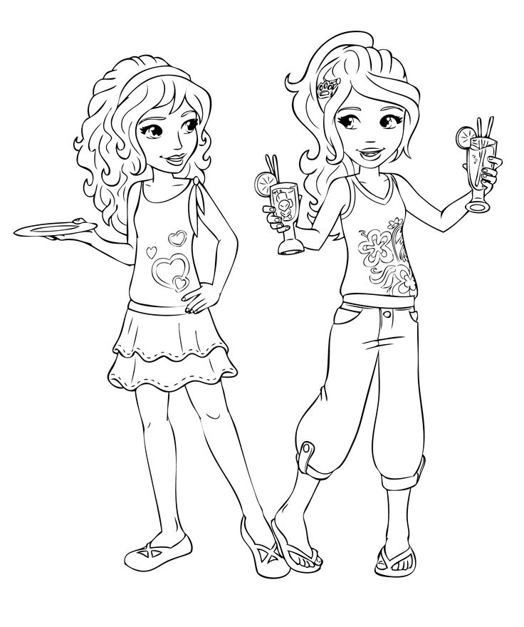 736x880 Lego Friends Colouring Great Lego Friends Coloring Pages