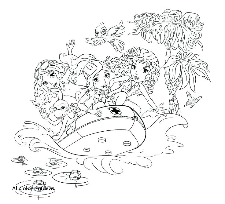 736x668 Lego Friends Coloring Pages To Print Coloring Collection