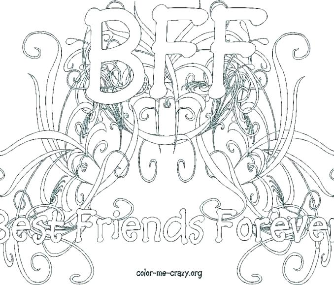 678x579 Best Friend Coloring Pages Printable Coloring Pages Best Friend