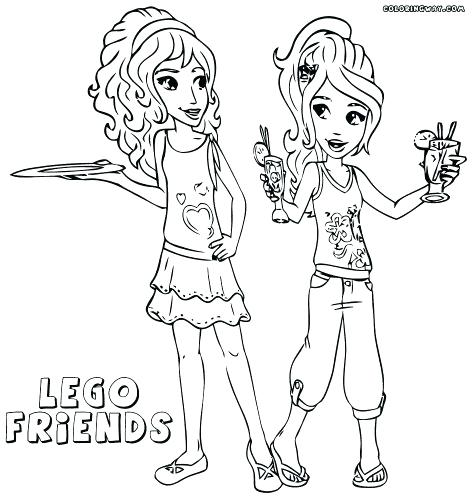 Lego Friends Coloring Pages Printable Free At Getdrawingscom Free