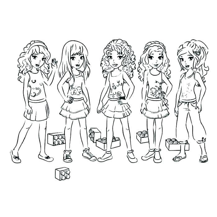 699x699 Coloring Pages Lego Friends Friend Coloring Pages Friends Coloring