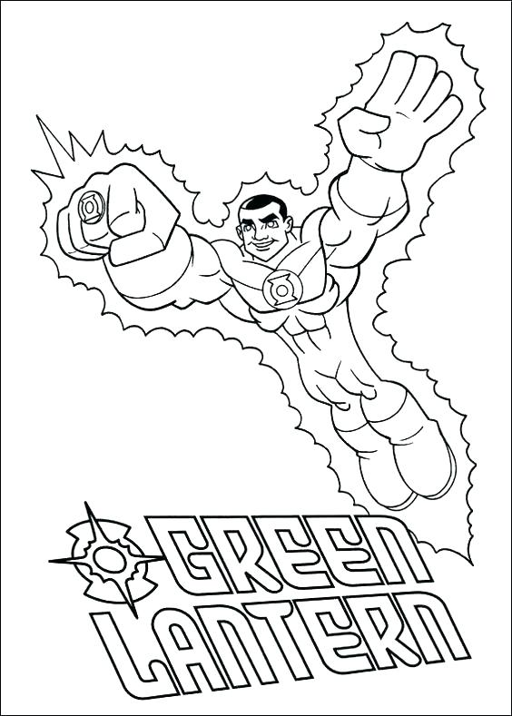 564x789 Green Lantern Coloring Page Green Lantern Coloring Pages Green