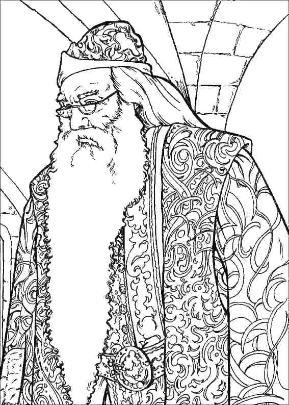 567x794 Harry Potter Coloring Pages To Print Harry Potter Coloring Pages