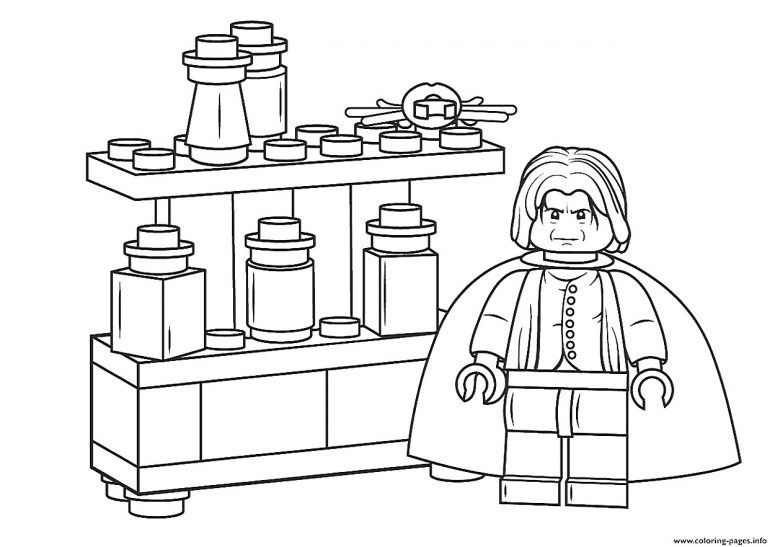 775x547 Lego Harry Potter Coloring Pages To Print Coloring Page