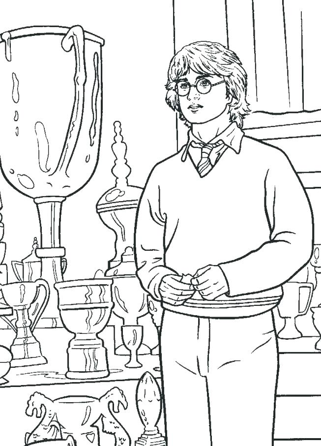 653x907 Free Harry Potter Coloring Pages S Free Online Harry Potter