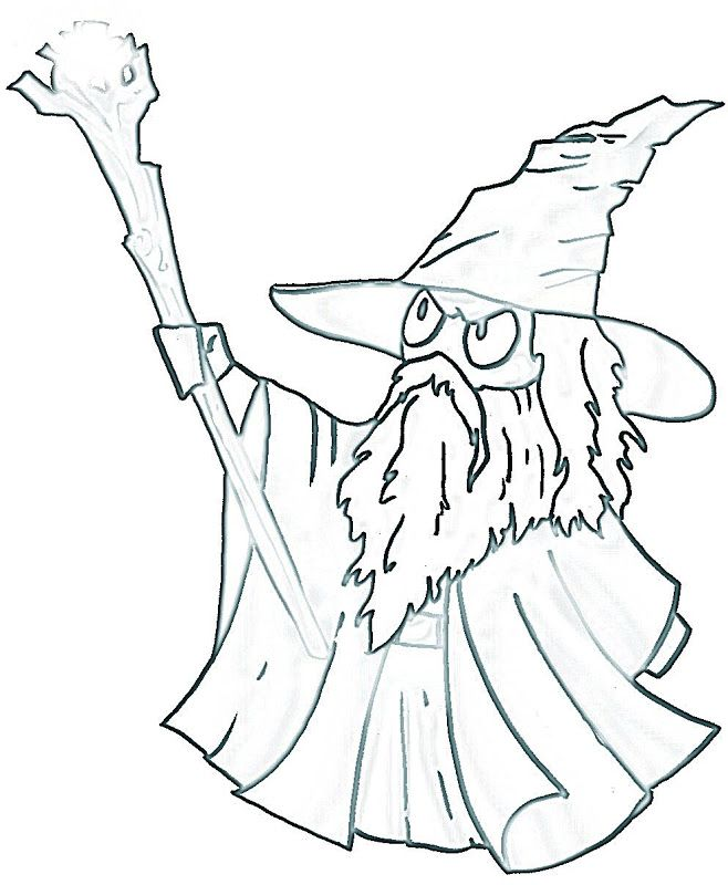 658x800 Gandalf The Hobbit Coloring Pages Middle Earth Free Printables