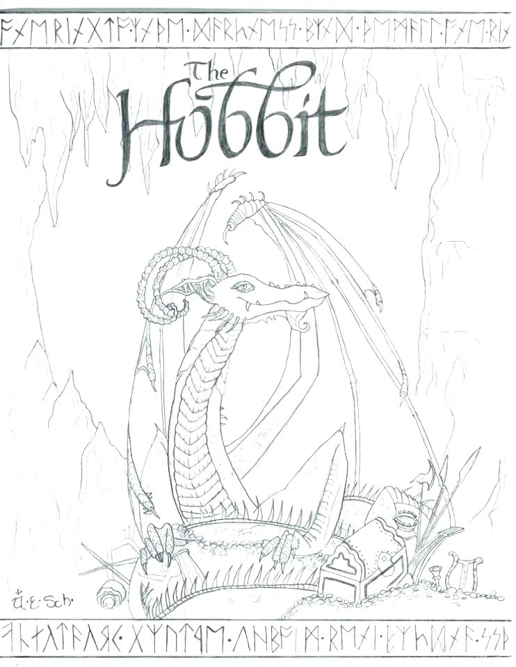 742x960 Hobbit Coloring Pages The Hobbit Coloring Pages Also Picture