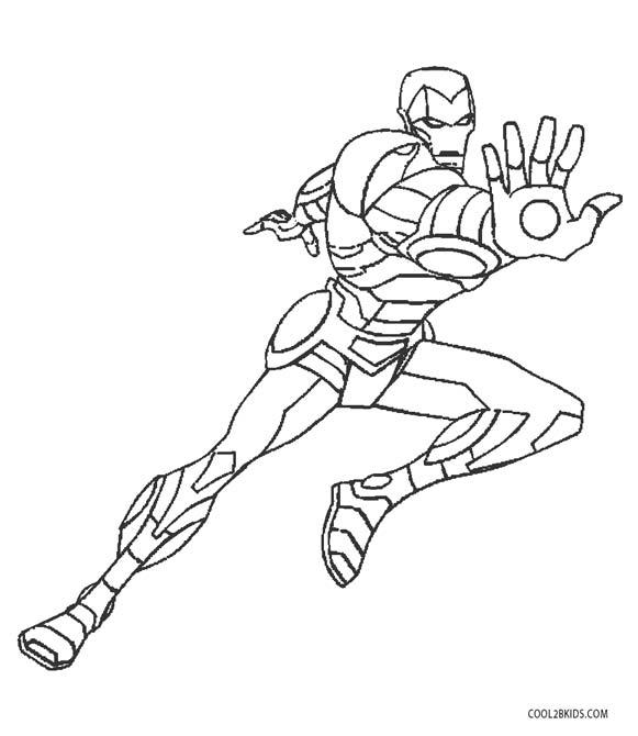 Iron Man Printable