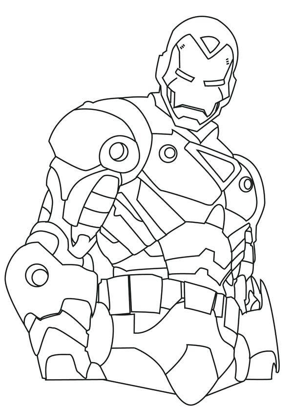 600x835 Iron Man Color Pages Coloring Pages Of Iron Man Iron Man Pictures