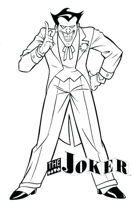 448x700 Joker Coloring Pages Batman Joker Coloring Pages Full Size Of Cute