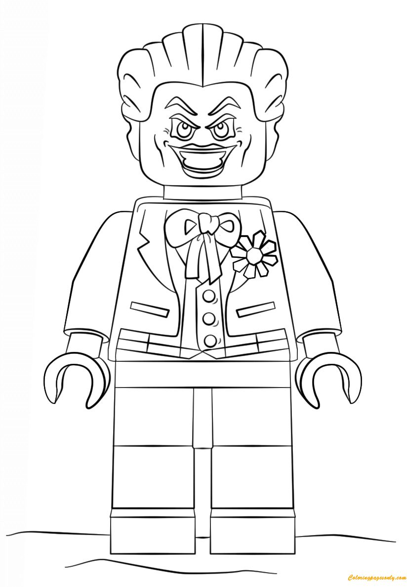 824x1186 Lego Batman Joker Coloring Page Free Pages Online Colouring Page