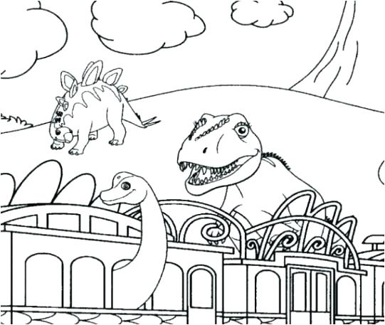541x457 Jurassic Park Coloring Pages Park Coloring Pages With Dinosaur