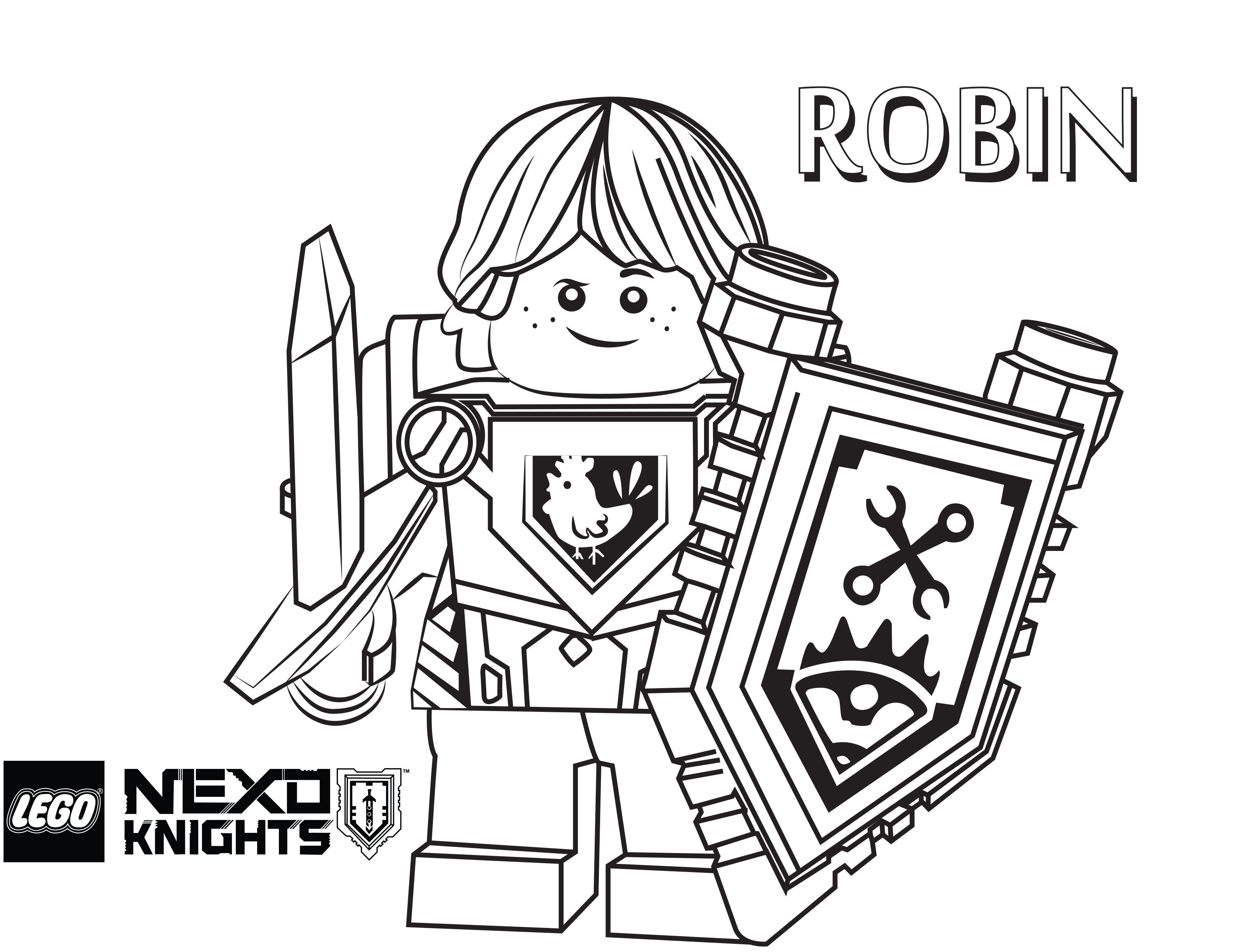 3189x2454 Lego Nexo Knights Coloring Pages Free Printable Incredible Lego