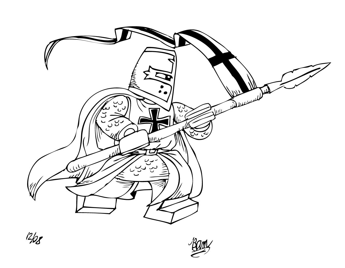 1335x1038 Lego Knight Coloring Pages Coloring For Kids Lego