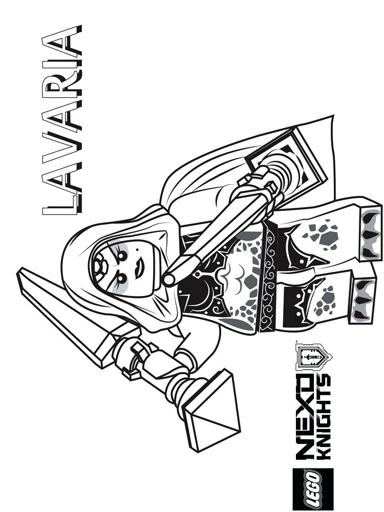 750x1000 Lego Nexo Knights Printable Coloring Pages Knight Free For Boys