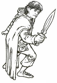 236x342 Best Free Printable Lord Of The Rings Coloring Pages Online