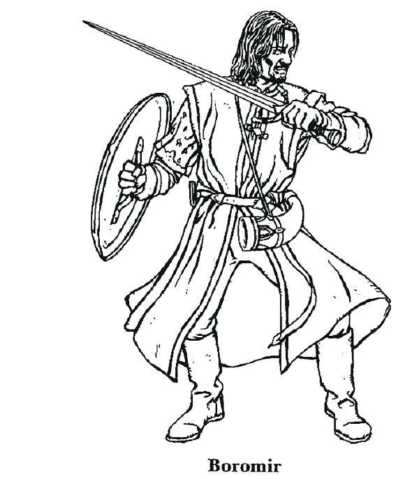 600x686 Lord The Rings Coloring Pages Coloring Pages Gallery