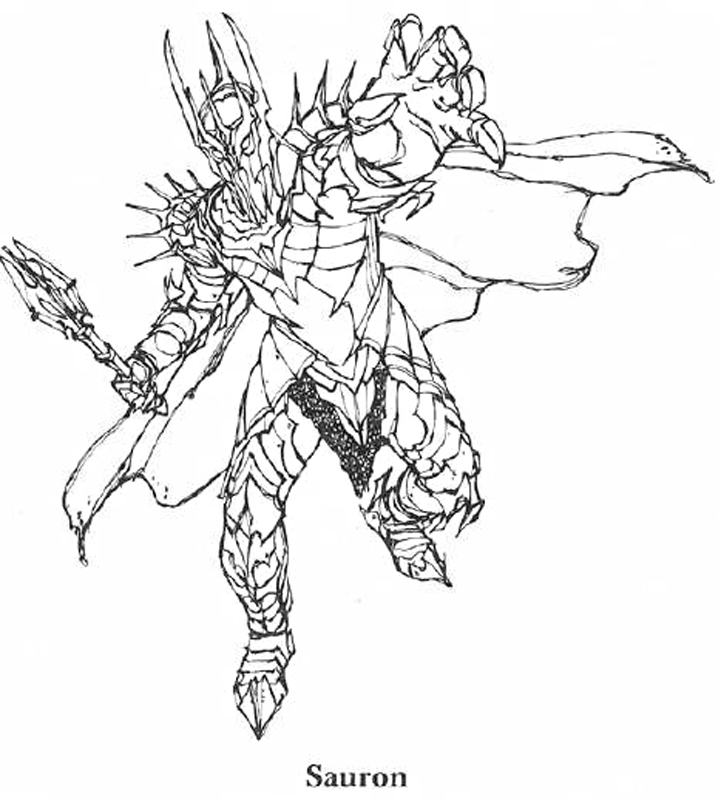 721x800 Lord Of The Rings Coloring Pages Transformer