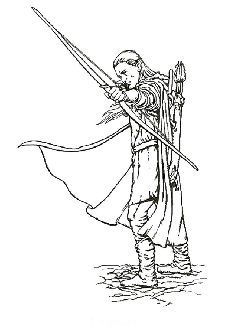 736x1079 Best Lord Of The Rings Colouring Pages Images