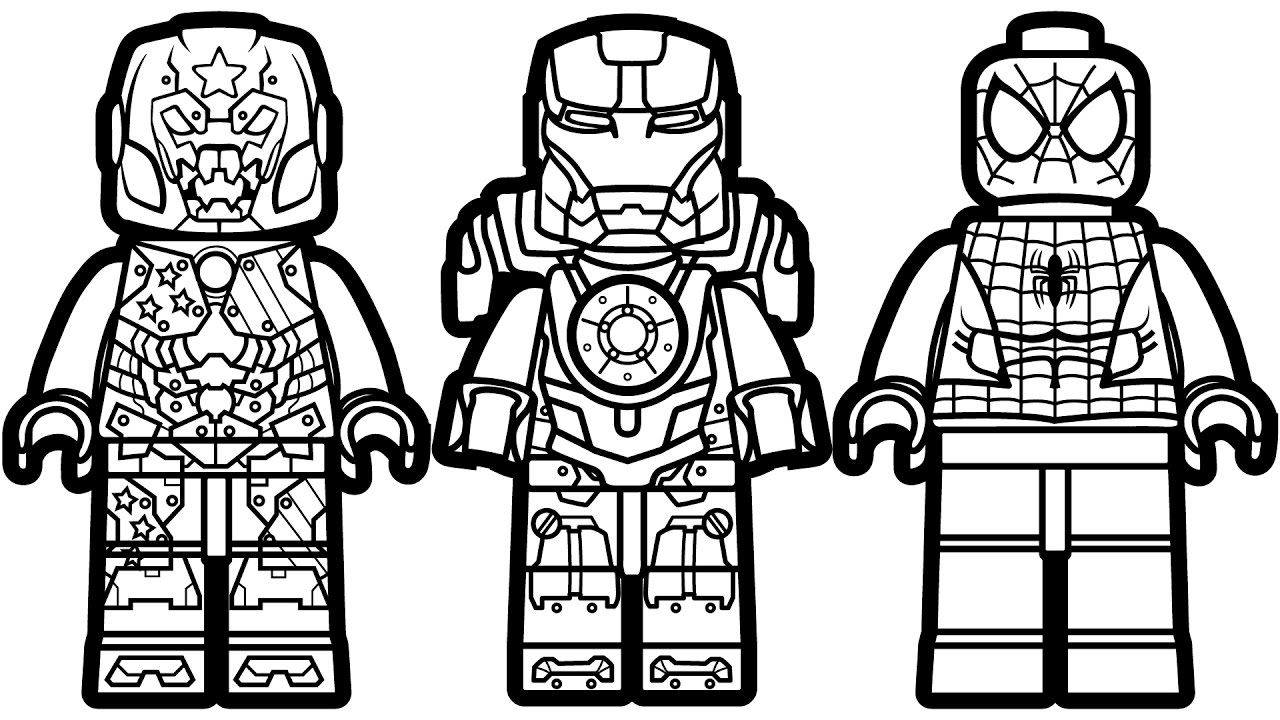 Lego Man Coloring Page at GetColorings.com | Free ... |Lego Man Coloring Page