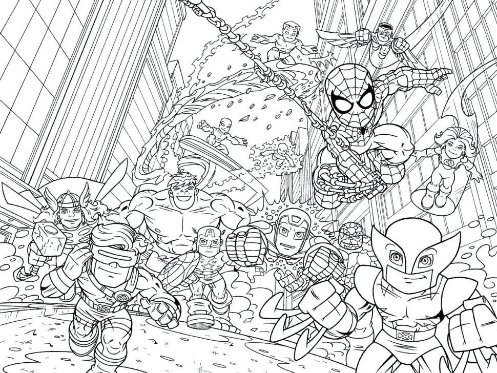 970x728 Marvel Color Pages Marvel Coloring Sheets Com Pages Lego Marvel