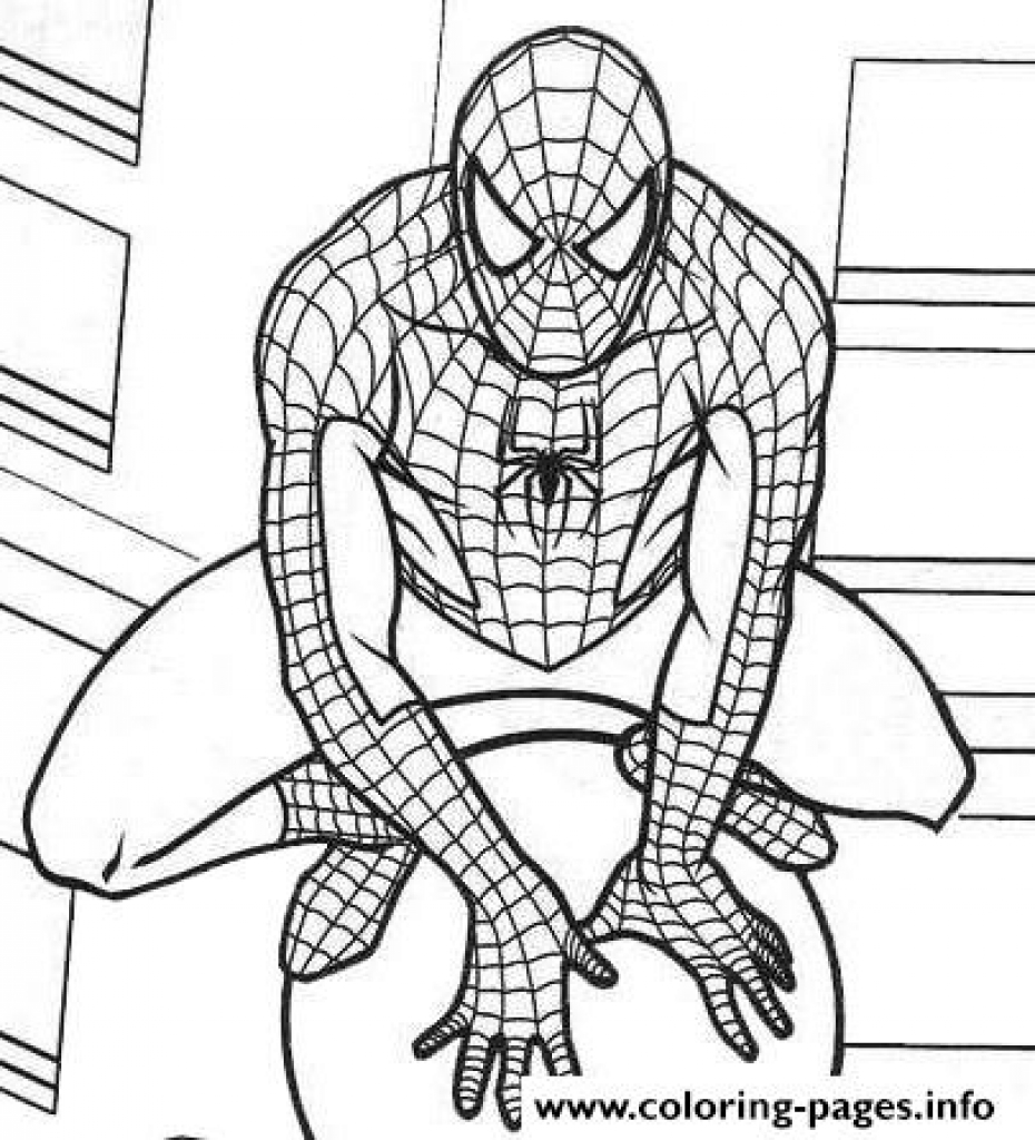 Lego Marvel Coloring Pages At GetDrawings