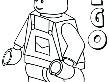 440x330 Lego Minifigure Coloring Pages Coloring Pages Coloring Pages