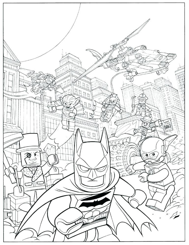 770x998 Lego Minifigure Coloring Pages Lego Minifigures Coloring Sheets