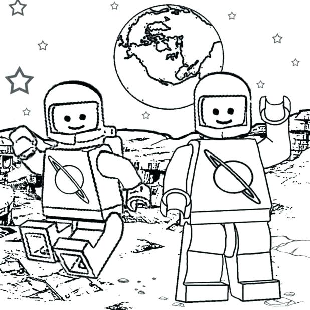 618x618 Lego Minifigures Coloring Pages New Space Coloring Pages