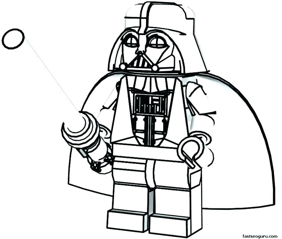 940x796 Lego Minifigure Coloring Pages