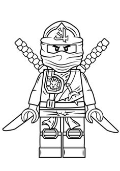 236x334 Free Lego Printable Mini Figure Coloring Pages