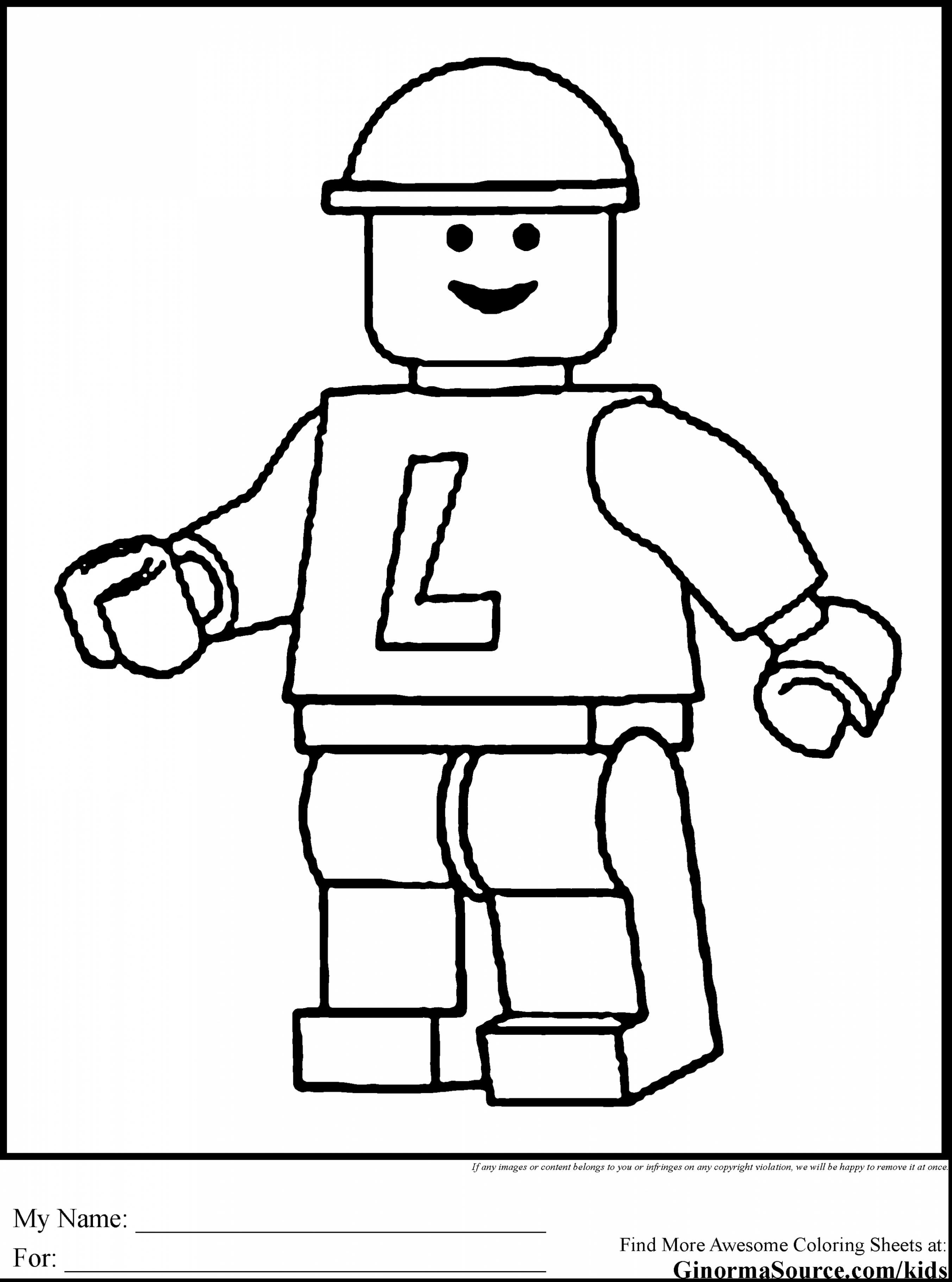 2704x3641 Fresh Coloring Pages Lego Minifigures