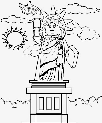 333x400 Lets Coloring Book Printable Lego Minifigures Men Coloring Pages