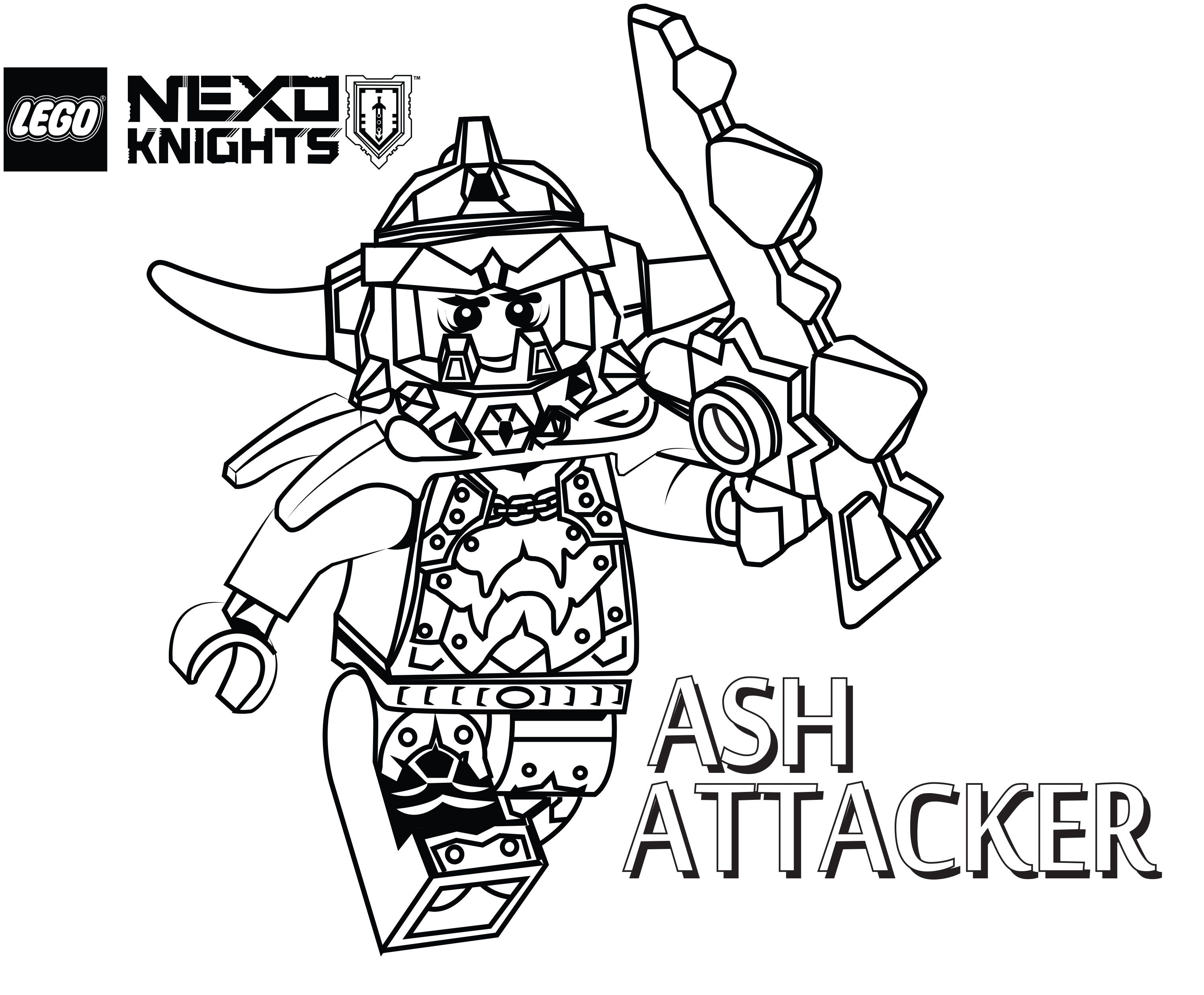 3024x2499 Lego Nexo Knights Coloring Pages Free Printable Lego Nexo