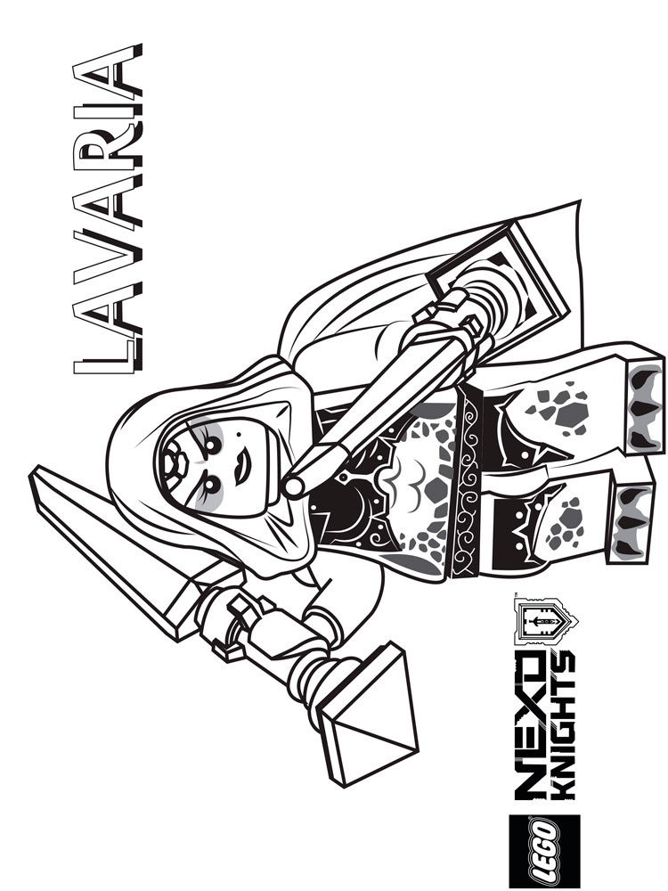 Lego Nexo Knights Coloring Pages At Getdrawings Com Free For