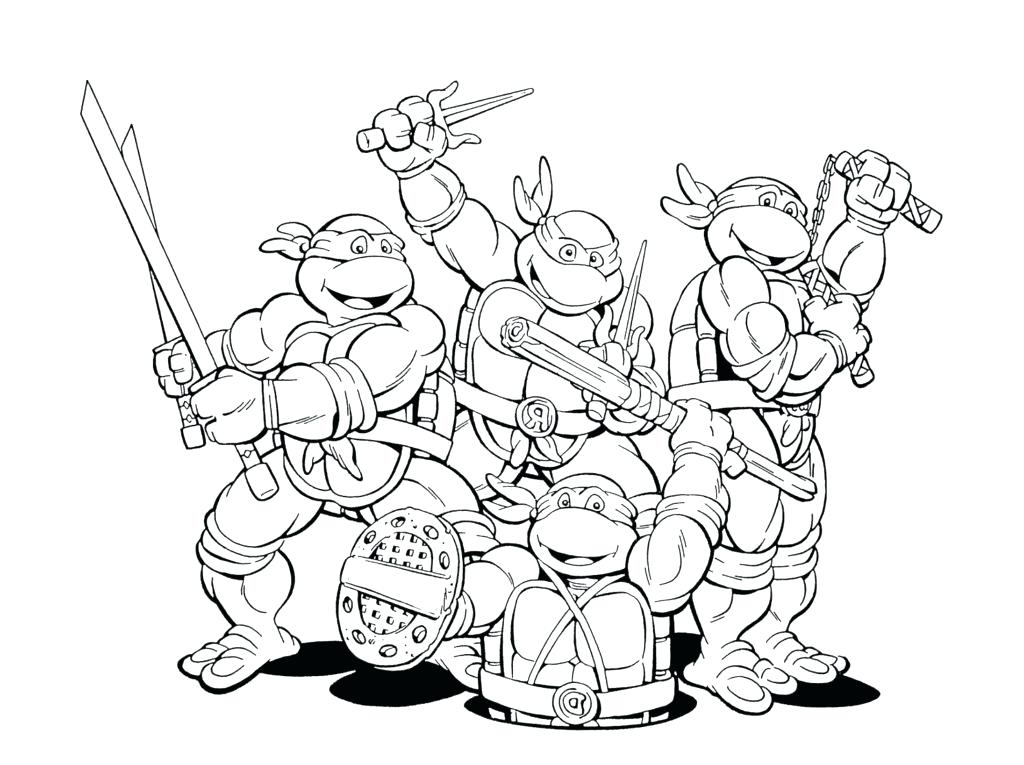 1024x765 Ninja Coloring Pages Printable Extremely Creative Pictures