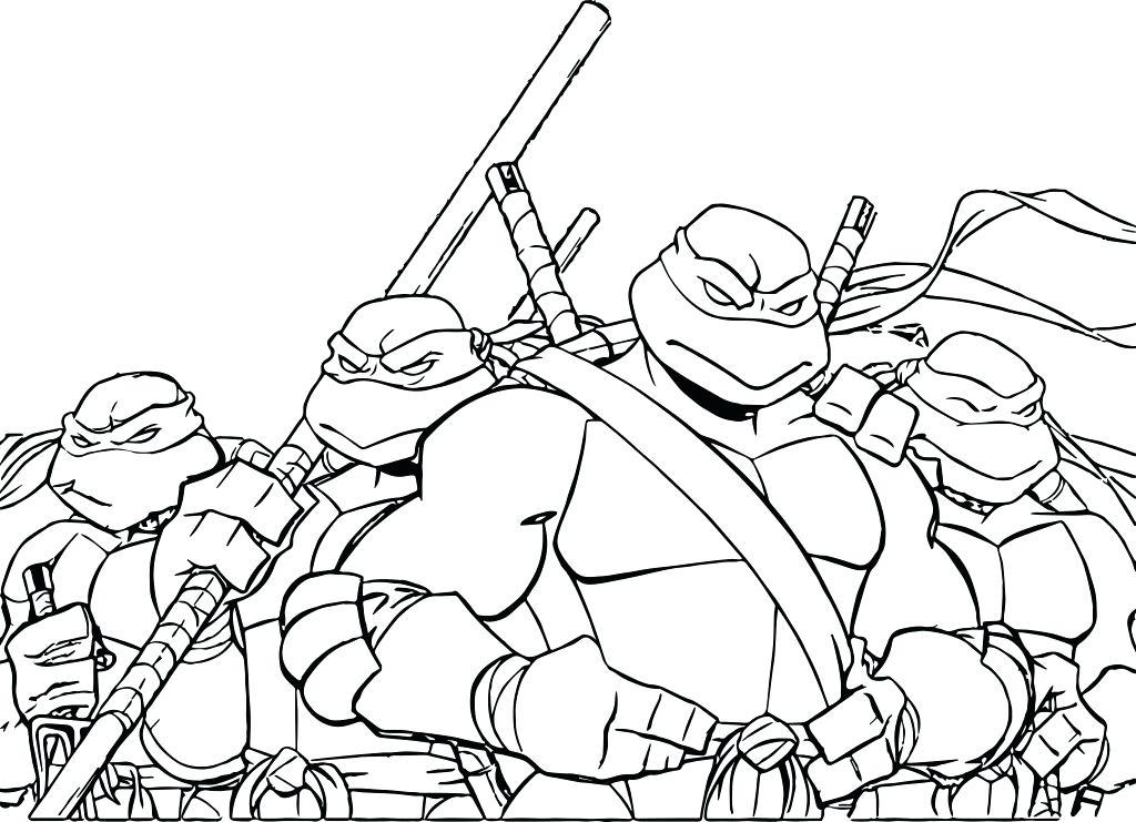 1024x741 Coloring Pages Ninja Turtles Coloring Pages Teenage Mutant Ninja
