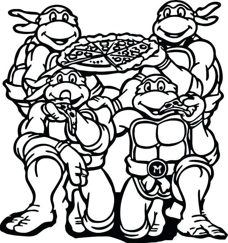 735x784 Ninjas Coloring Pages Coloring Pages Of Ninjas Coloring Pages