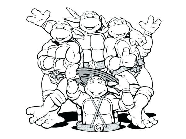 600x450 Teenage Mutant Ninja Turtles Color Pages