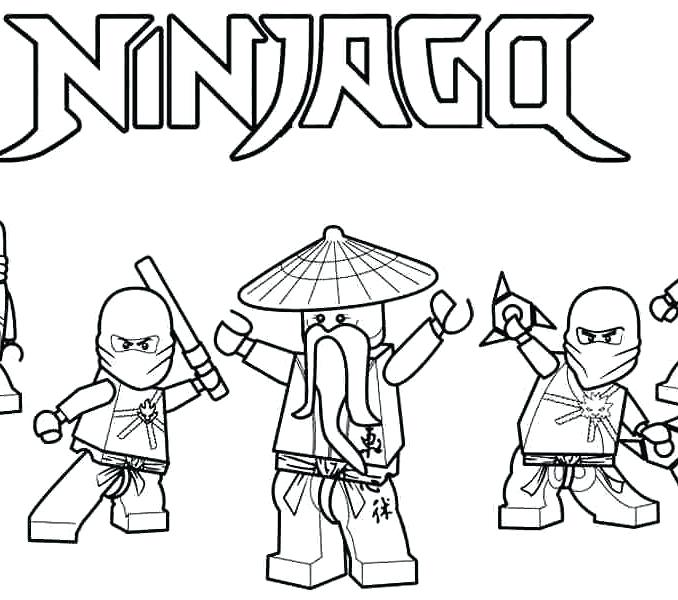 678x600 Coloring Pages With Coloring Pages Printable Lego Ninjago Twin
