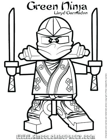 370x480 Ninjago Lloyd Coloring Pages