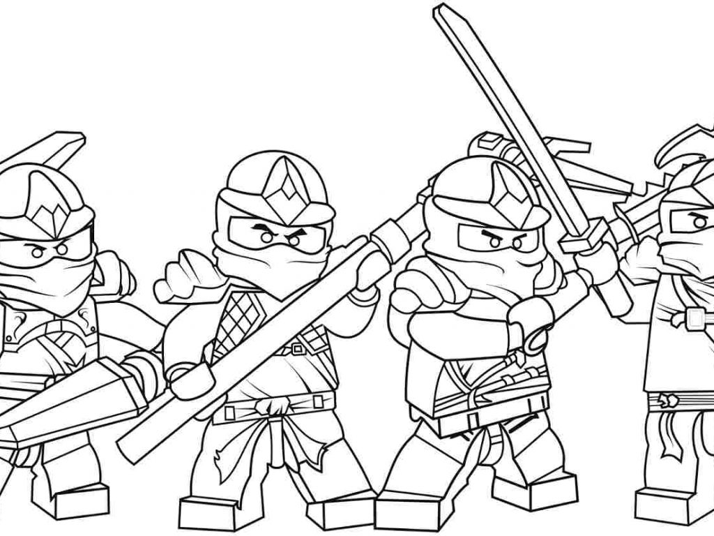 1024x768 Lego Ninjago Coloring Pages Cartoon Free Cartoons Zane Zx Cole