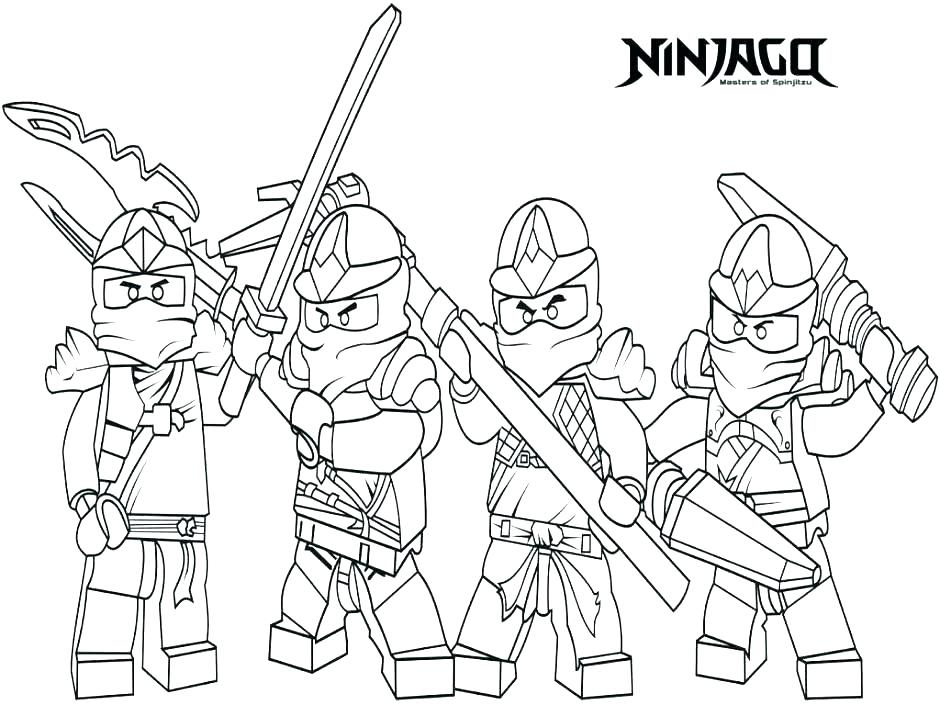 940x705 Lego Ninjago Coloring Pages Coloring Pages To Print Coloring Book