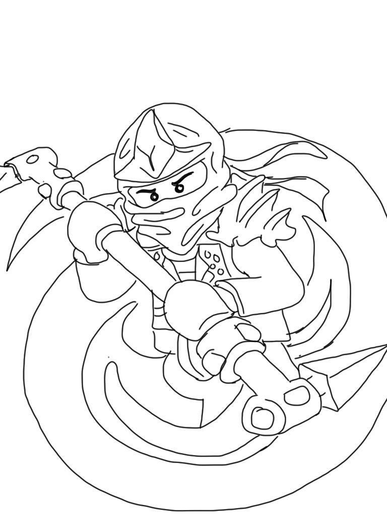 768x1024 Lego Ninjago Coloring Pages Free Party Ninja