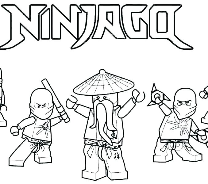 678x600 Coloring Pages Printable Ninjago Coloring Pages Ninjago Printable