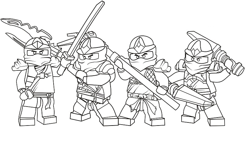 800x503 Printable Ninjago Coloring Pages Coloring Me