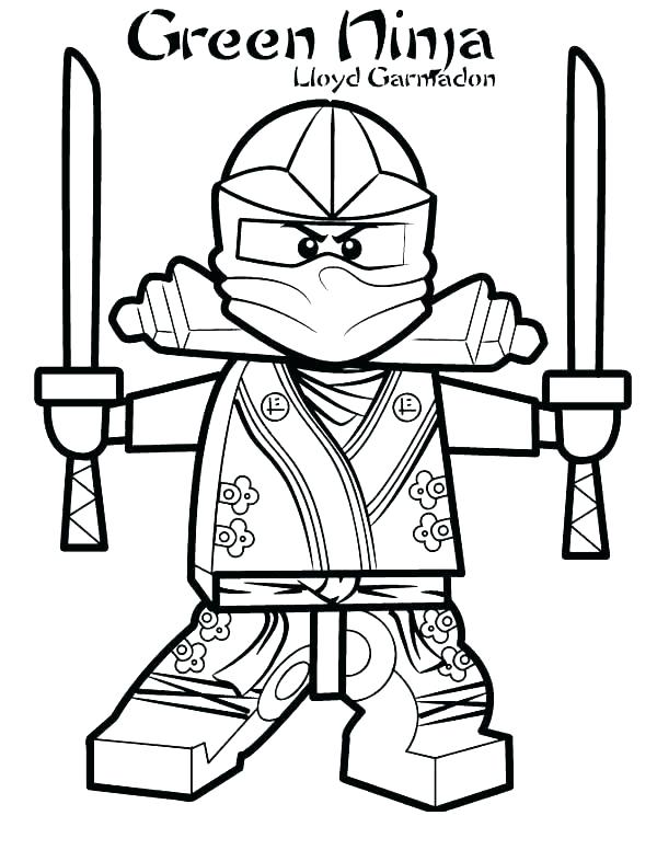 600x776 Ninjago Coloring Pages