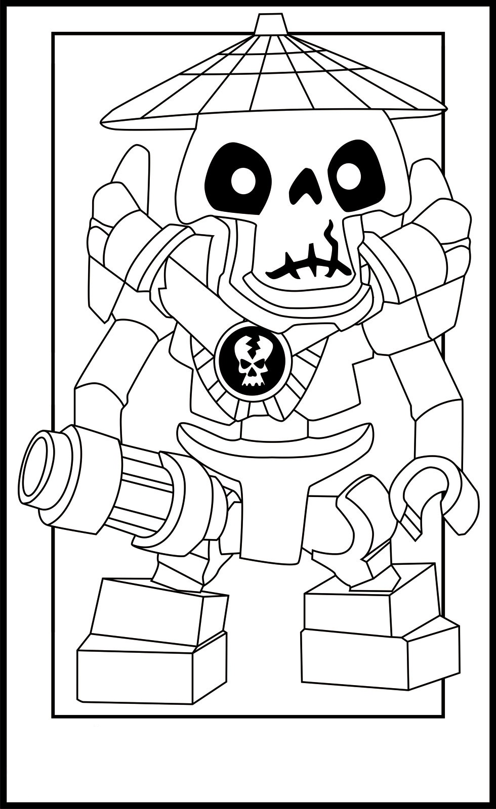 980x1600 Free Printable Ninjago Coloring Pages For Kids
